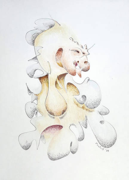 Drawing - Alternate Speaker by Dave Martsolf