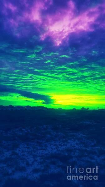 Photograph - Alternate Sunset by Rachel Hannah