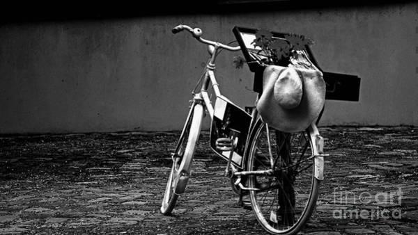 Photograph - Altes Fahrrad Old Bicycle by Eva-Maria Di Bella