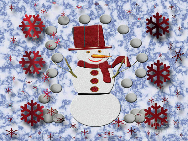 Photograph - Alto Cheerful Snowman by Rockin Docks Deluxephotos