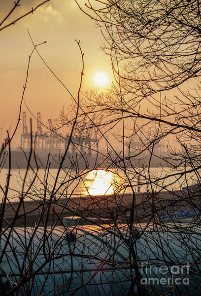 Photograph - Altonaer Balkon Sunset by Marina Usmanskaya