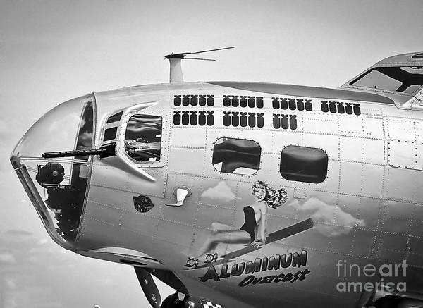 Photograph - Aluminum Overcast - B-17 by Ricky L Jones