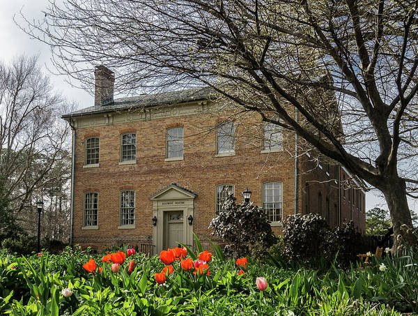 Photograph - Alumni House In Spring by Jerry Gammon