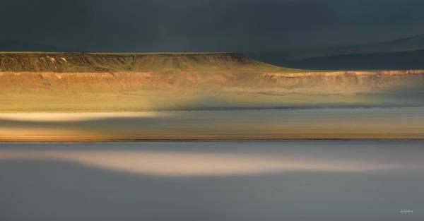 Photograph - Alvord Desert Light by Leland D Howard