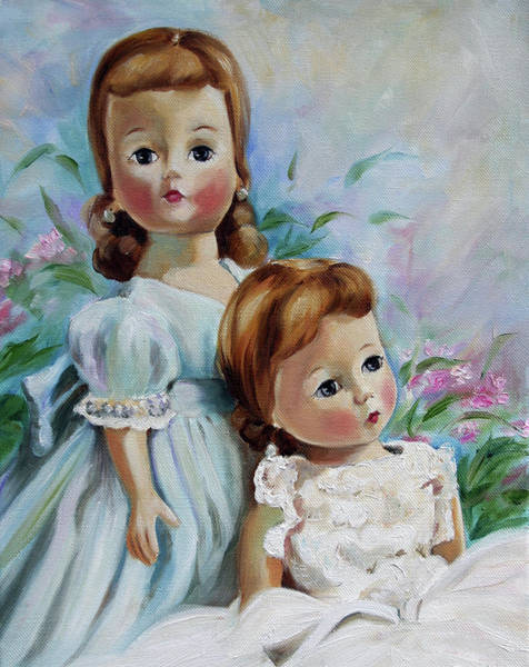 Bridesmaids Painting - Always A Bridesmade by Mary Sparrow