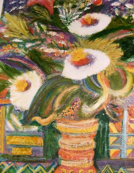Always Blooming Bright And Happy Flowers Art Print by Anne-Elizabeth Whiteway
