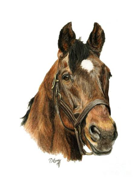 Wall Art - Painting - Alysheba by Pat DeLong