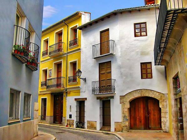 Photograph - Alzira Neighborhood by Anthony Dezenzio