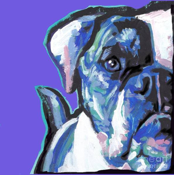 Wall Art - Painting - Am An American  Sweet Bully by Lea