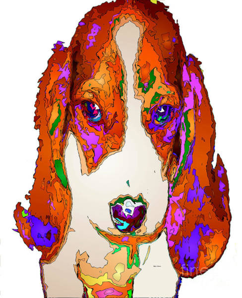 Digital Art - Am I Cute Or What. Pet Series by Rafael Salazar
