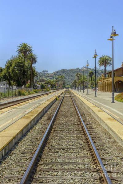 Photograph - Am Trak Station Portrait by Joe Lach