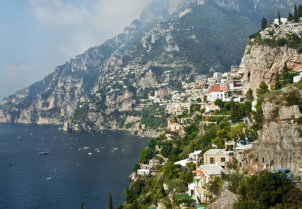 Photograph - Amalfi Coast II by Steven Sparks