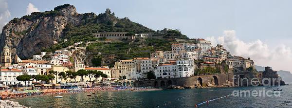 Bell Rock Photograph - Amalfi Coast by Jim Chamberlain