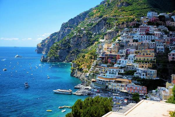 Wall Art - Photograph - Amalfi Coast, Positano, Italy by Ron Bartels
