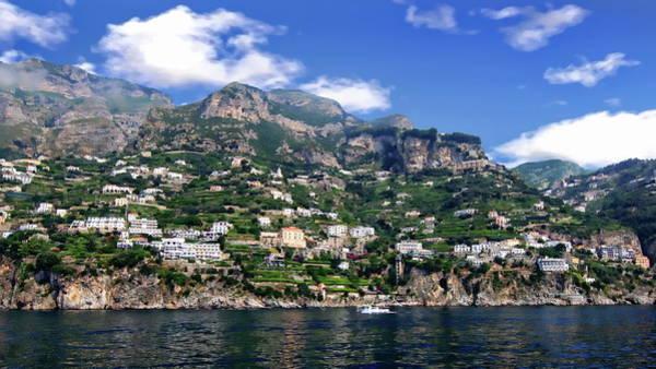 Photograph - Amalfi Coastal View by Anthony Dezenzio