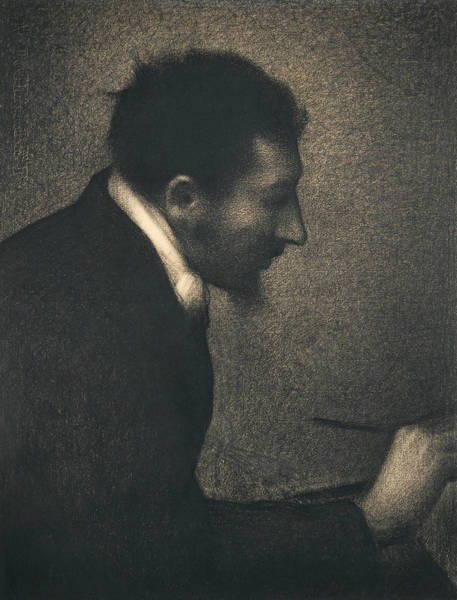 Drawing - Aman-jean by Georges-Pierre Seurat