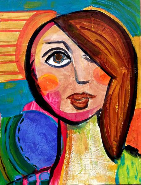 Amanda - Vivid Vixen 1 Art Print