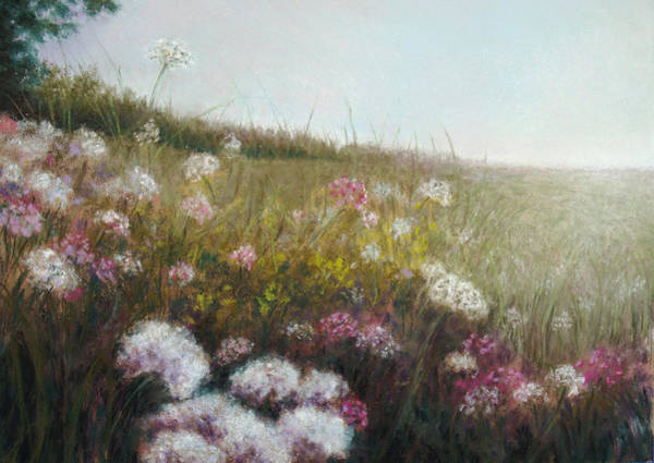 Dandilions Painting - Amanda by Susan Jenkins