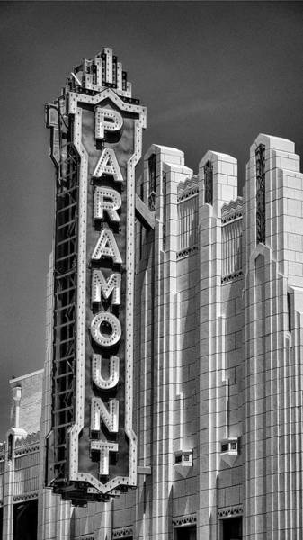 Wall Art - Photograph - Amarillo Paramount Theatre - #1 by Stephen Stookey