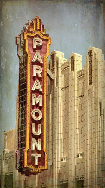 Wall Art - Photograph - Amarillo Paramount Theatre - #2 by Stephen Stookey