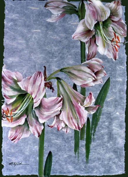 Amaryllis Painting - Amaryllis by Mitzi Lai