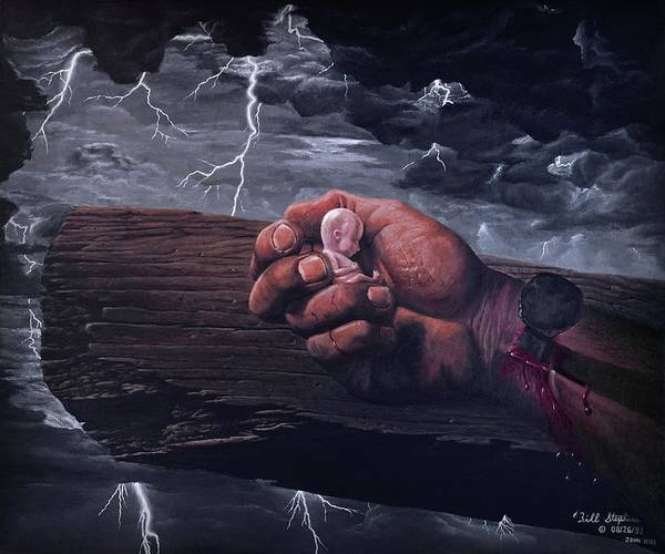 Redemption Painting - Amazing Grace by Bill Stephens