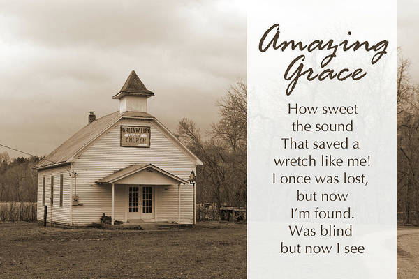 Photograph - Amazing Grace by CE Haynes