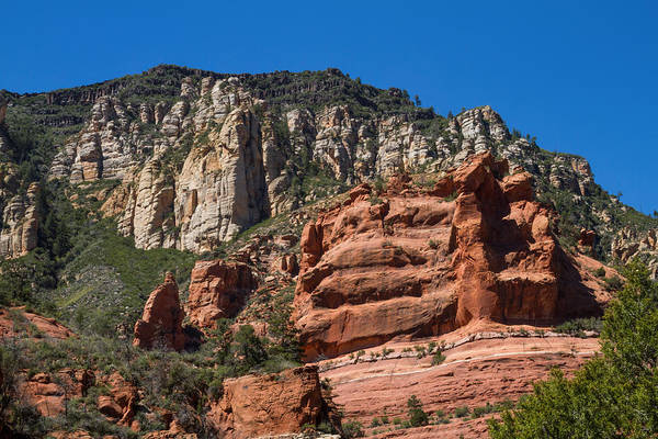 Photograph - Amazing Red Rocks View 1 by Bonnie Follett