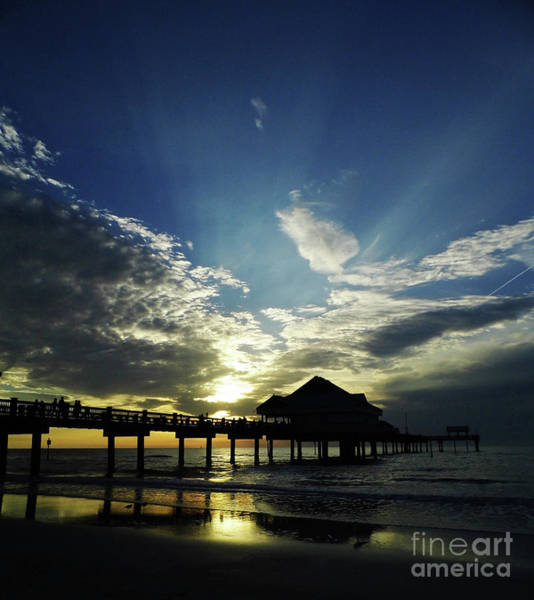 Photograph - Amazing Sky Pier 60 by D Hackett