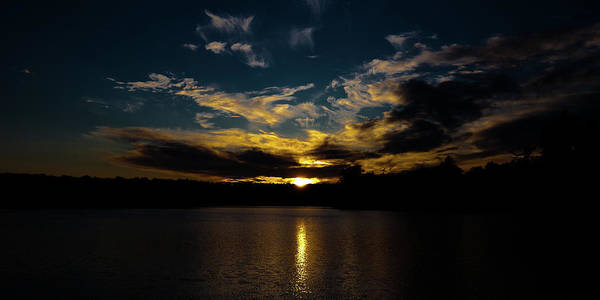 Photograph - Amazing Sunset On Nicks Lake by David Patterson