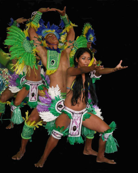 Photograph - Amazon Dancers by Larry Linton