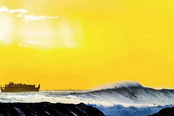 Wall Art - Photograph - Amber Cruise by Sean Davey