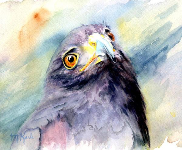 Painting - Amber Eyes by Marsha Karle