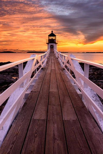 Photograph - Amber Lights by Michael Blanchette