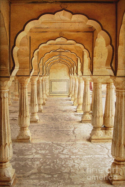 Amber Photograph - Amber Palace by Delphimages Photo Creations