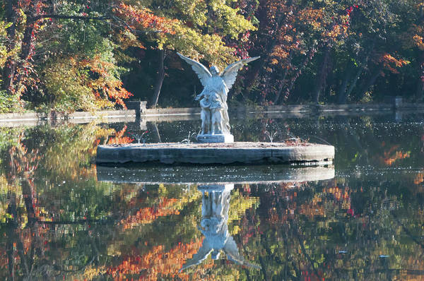 Wall Art - Photograph - Ambler Angel Reflection by Bill Cannon