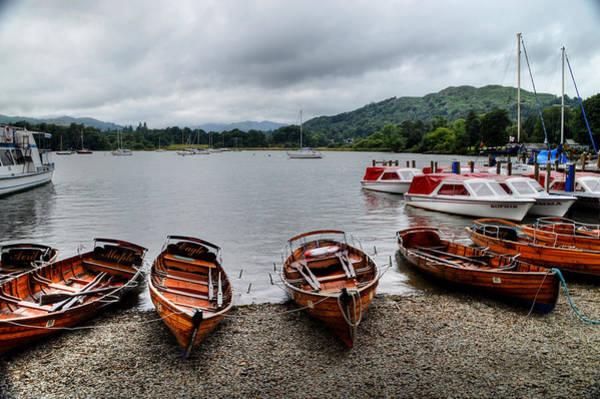 Photograph - Ambleside Boats by Sarah Couzens
