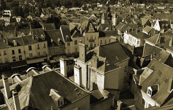 Photograph - Amboise, France Sepia by Jani Freimann