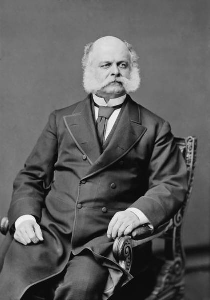 Stores Photograph - Ambrose Burnside And His Sideburns by War Is Hell Store