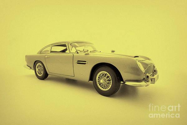 Db5 Wall Art - Photograph - Ambrotype Aston Martin Db5 Model by Simon Bradfield