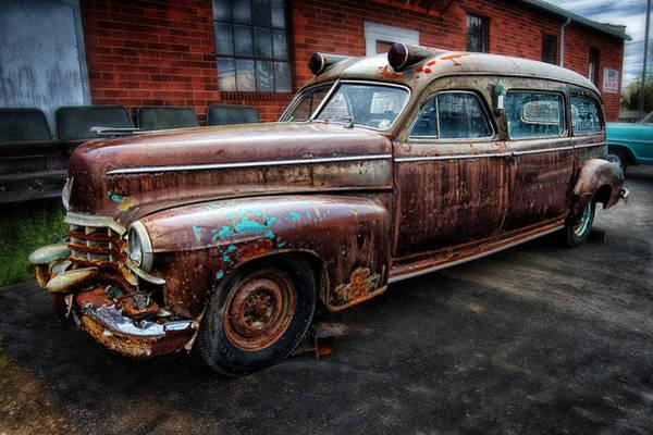 Photograph - Ambulance by Dick Pratt