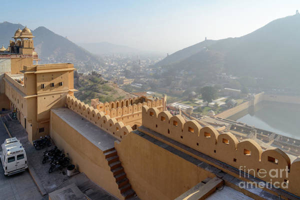 Photograph - Amer Fort 02 by Werner Padarin