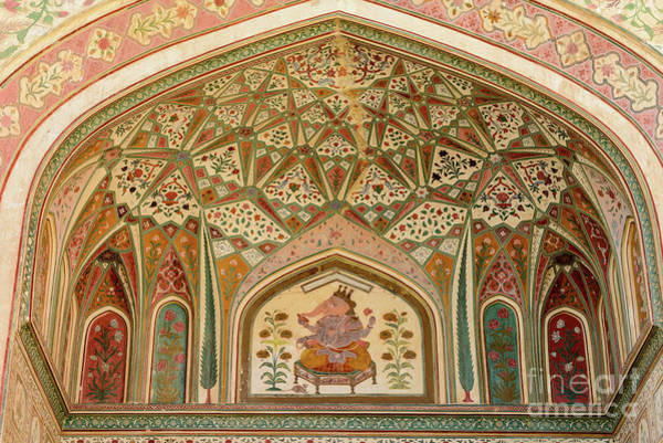 Photograph - Amer Fort 05 by Werner Padarin