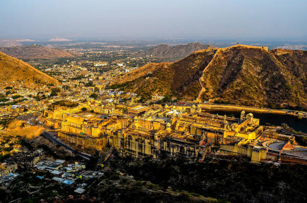 Photograph - Amer Fort by M G Whittingham