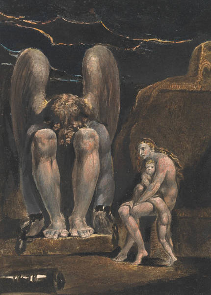 Painting - America. A Prophecy, Plate 1, Frontispiece by William Blake