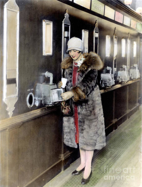 Photograph - America: Automat, C1925 by Granger