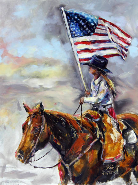 County Fair Painting - America by Kim Guthrie