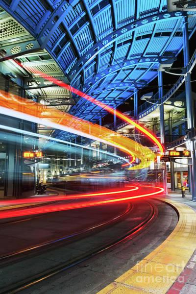Photograph - America Plaza Station by Eddie Yerkish