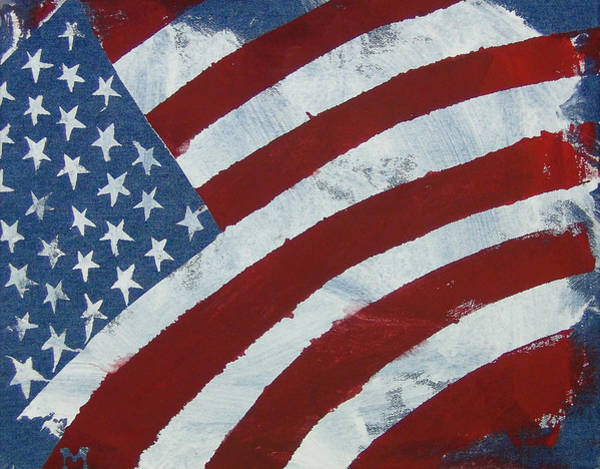 Painting - America The Beautiful by Candace Shrope