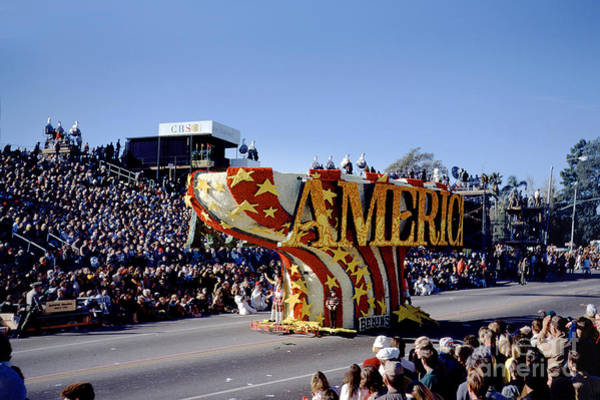 Tournament Of Roses Photograph - America - This Land Is Your Land, Cbs Television by Wernher Krutein